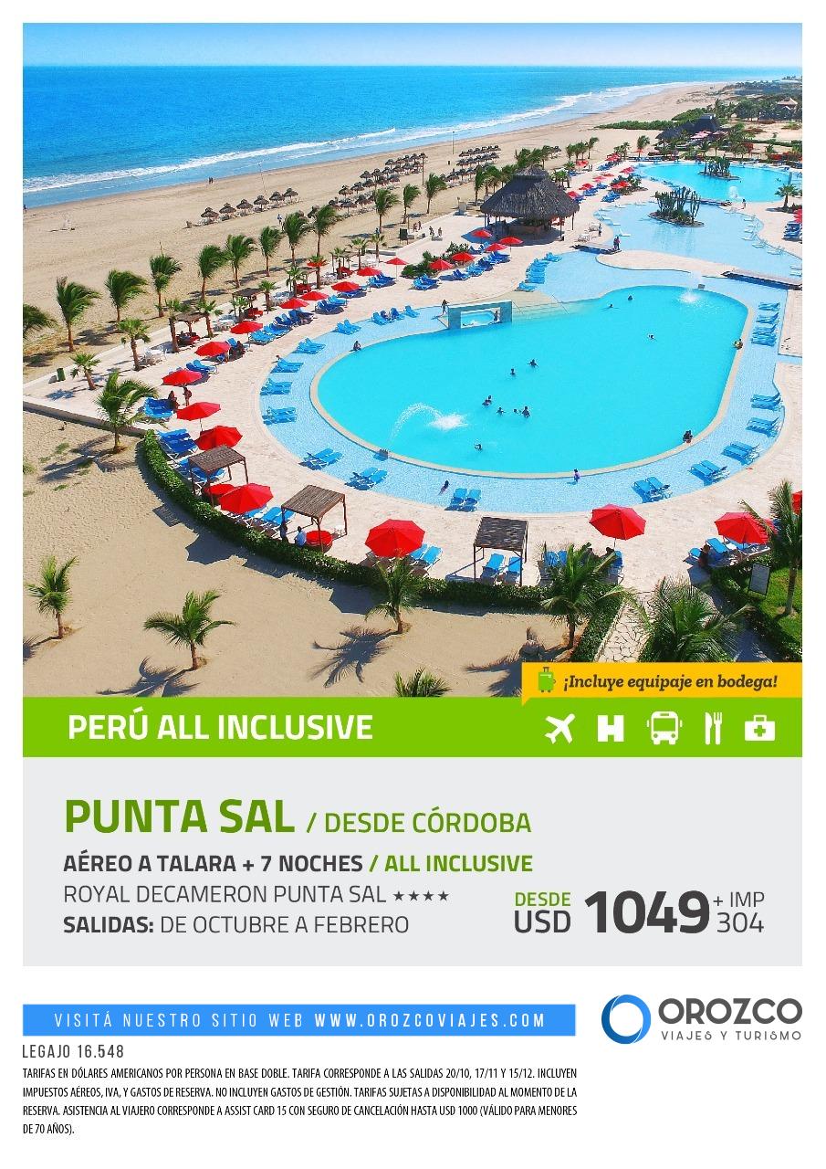 Perú all inclusive